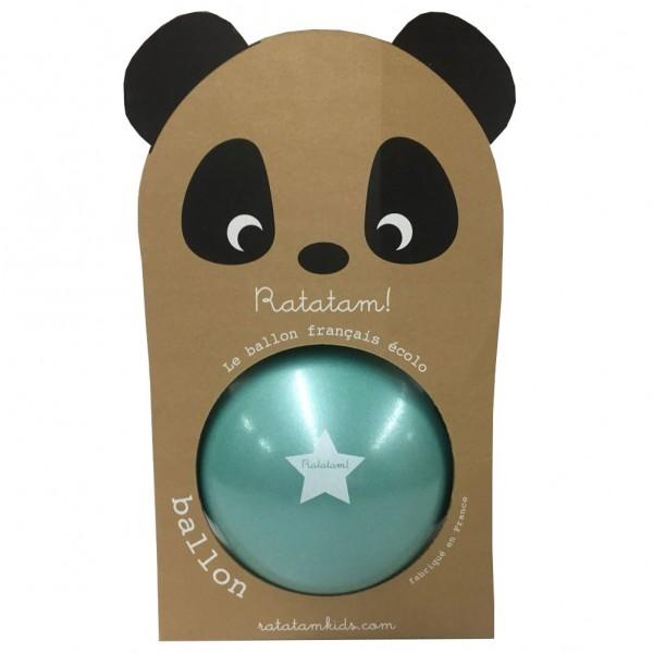 Ball, 22cm, türkisblau, Ratatam