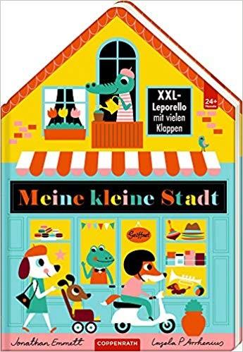 Bilderbuch / Kinderbuch: MEINE KLEINE STADT (XXL - Leporello)