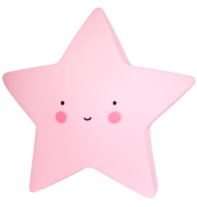 Nachtlicht Stern, klein, rosa,a little lovely company