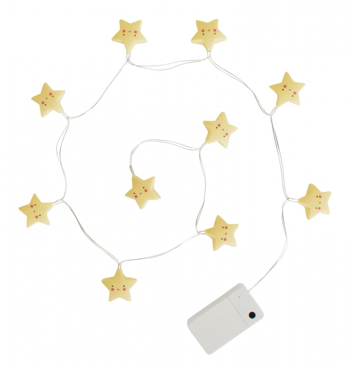 Lichterkette: Sterne