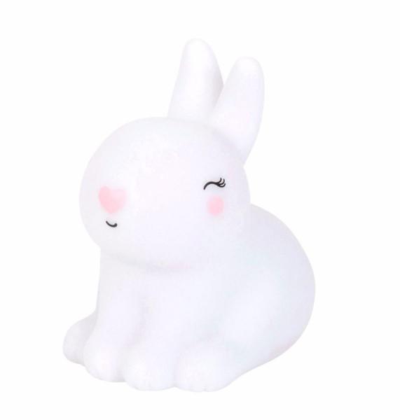 Nachtlicht Bunny / Kaninchen, mini, Fb. weiß, little lovely company