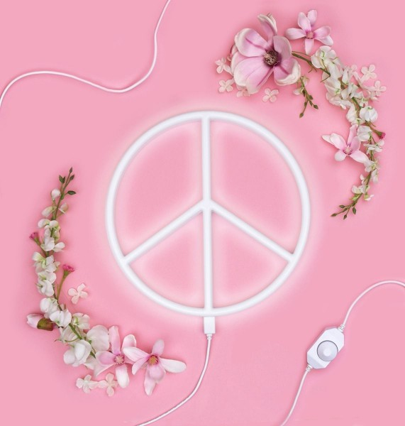 Neon Style Light PEACE,a little lovely company