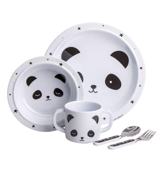 Kinderservice, 5 - teilig, Panda,a little lovely company