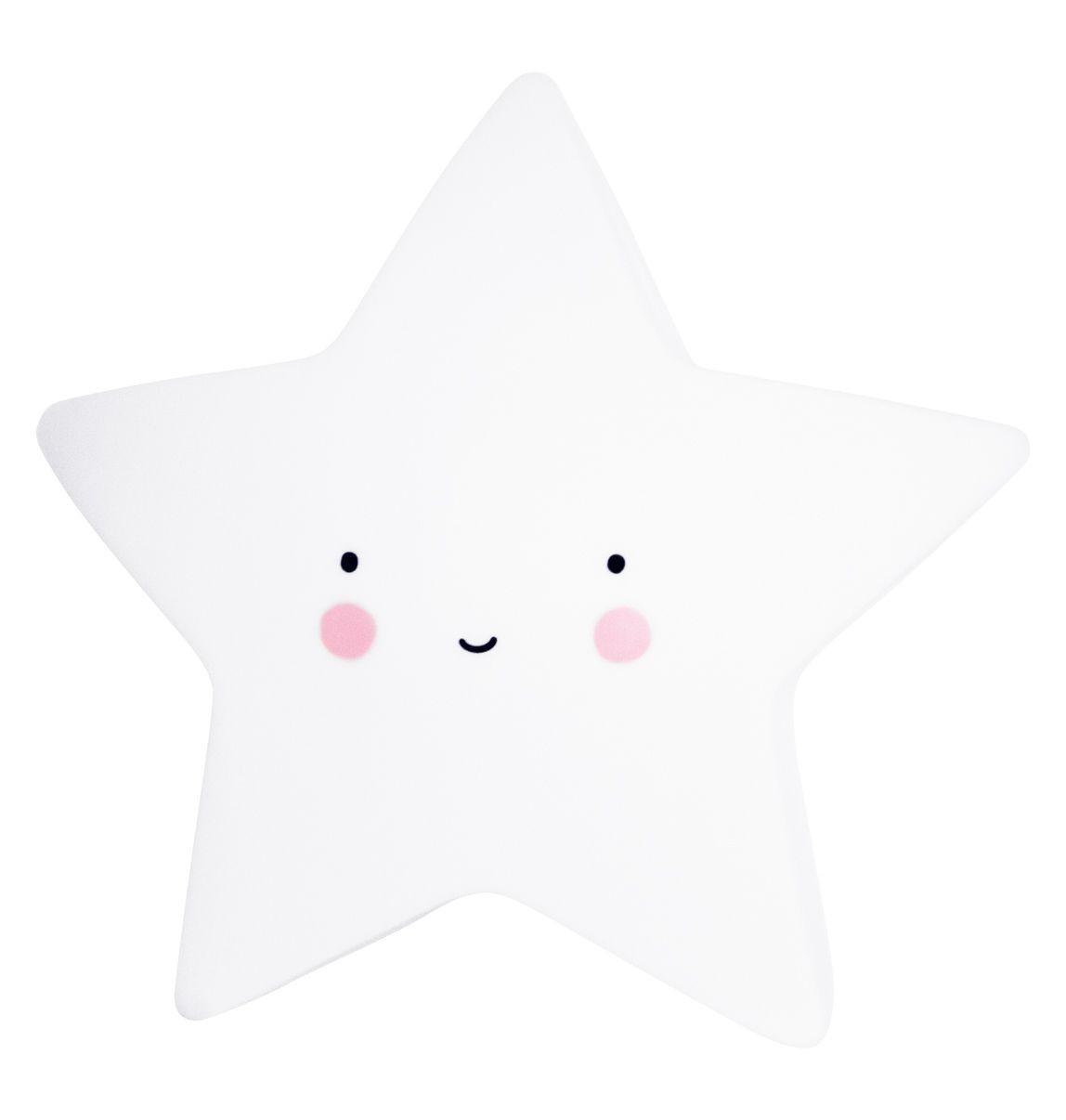 Nachtlicht Stern, klein, weiß,a little lovely company